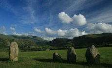 South from Castlerigg